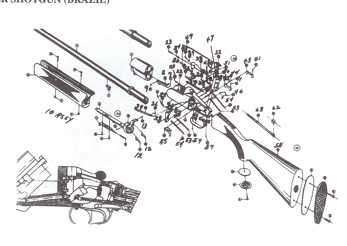 All Brazil Shotgun Parts Brazil Factory Shotgun Repair