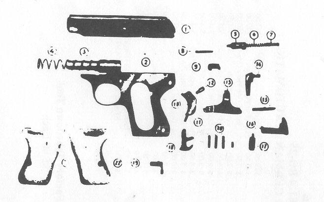 22 rifle parts diagram