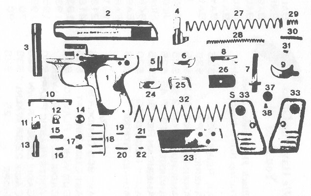 RIGARMI GALESI Pistol    Parts     Bob s Gun Shop MILLIONS OF