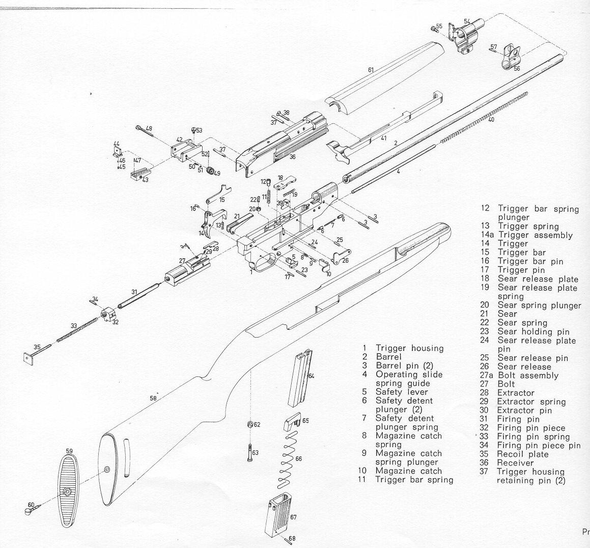 taurus model 66 parts diagram