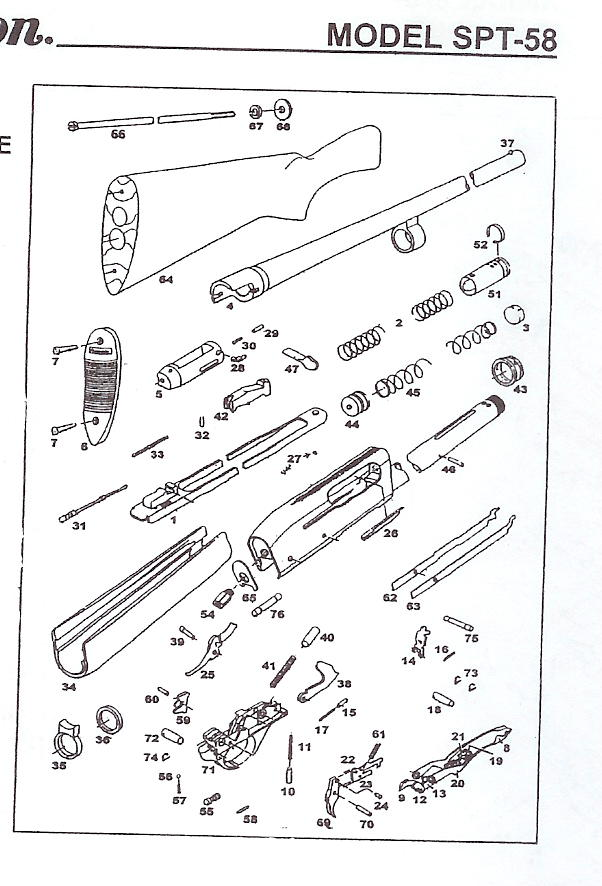 all available remington arms company shotgun repair parts bob s gun rh gun parts com remington 1100 ring diagram remington 1100 diagram parts