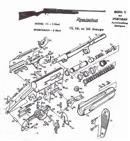 briggs and stratton 11 hp wiring diagram remington model 11 parts diagram remington free engine