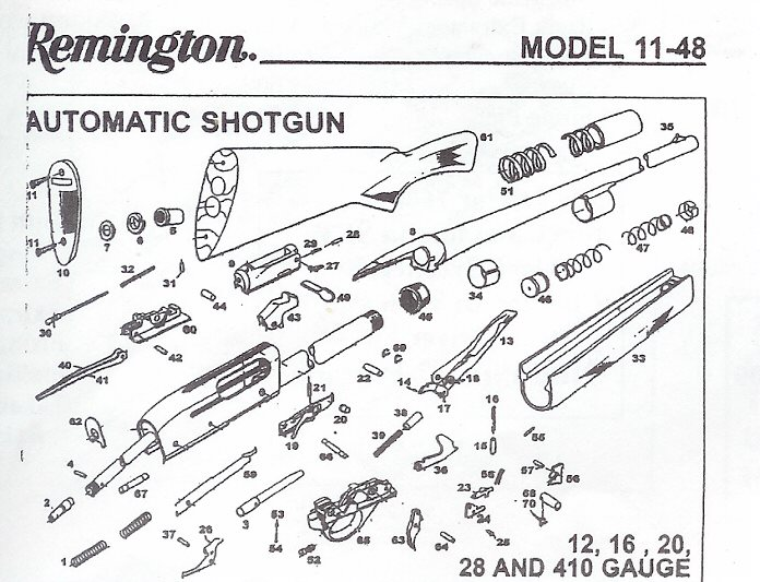 Excellent All Available Remington Arms Company Shotgun Repair Partsbobs Gun Wiring Digital Resources Otenewoestevosnl