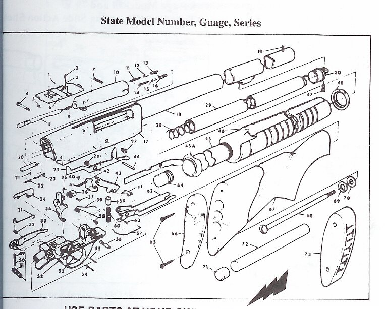 Robrajzok as well Stevens Parts Diagram besides Showthread also  on savage arms 1903 parts