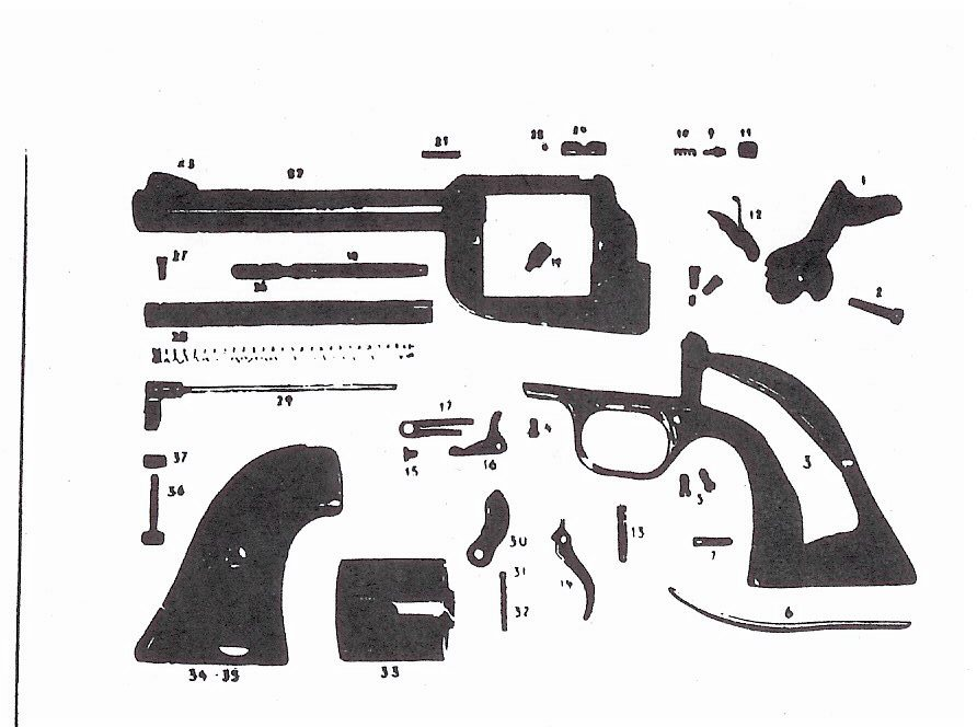 Wooden Pistol Parts Diagrams - Catalogue of Schemas on