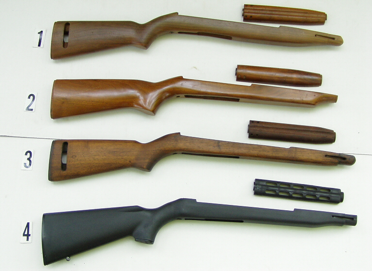 A lot of Military Rifle Stocks, Bob's Gun Shop , Sporter