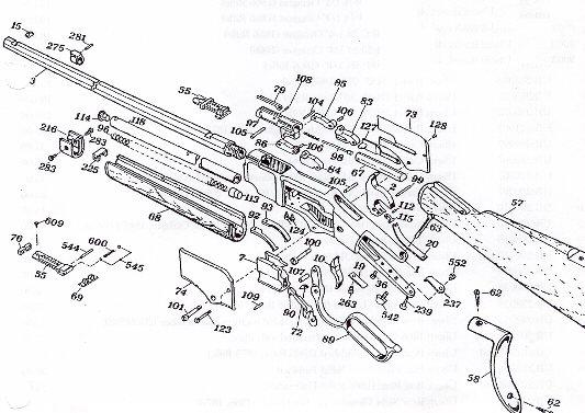 winchester 1906 parts diagram